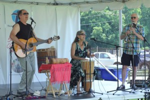 Trio at Thomaston ArtZfest 2013